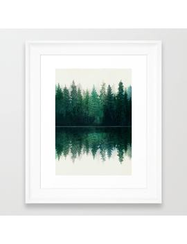 reflection-framed-art-print by nadja