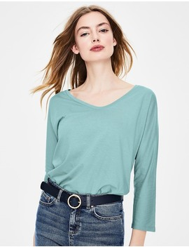 Supersoft Voop Tee by Boden