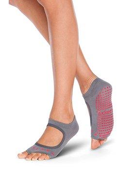 yoga-socks-for-women-non-slip,-toeless-non-skid-sticky-grip-sock---pilates,-barre,-ballet by tucketts