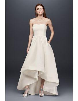 mikado-high-low-wedding-dress by db-studio
