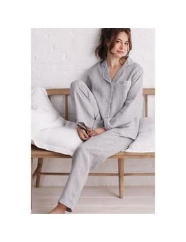 Chambray Linen Sleepwear – Pajama Set by The Company Store