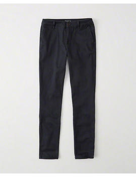 Low Rise Chino Pant by Abercrombie & Fitch