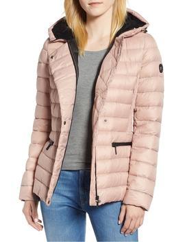 sporty-hooded-puffer-jacket by bernardo