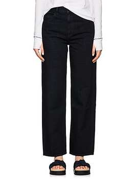 High Rise Straight Leg Jeans by Helmut Lang
