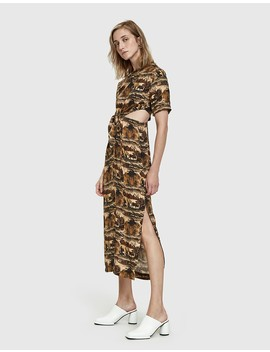 bhumi-jungle-print-dress by nanushka