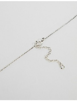 asos-design-sterling-silver-st-christopher-cut-out-pendant-necklace by asos-design
