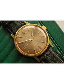 omega-geneve---vintage-mens-wristwatch-cal-601,-ref-135070 by etsy