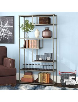 17-stories-evonna-industrial-standard-bookcase-&-reviews by 17-stories