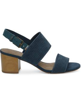 Atlantic Corduroy Women's Poppy Sandals by Toms