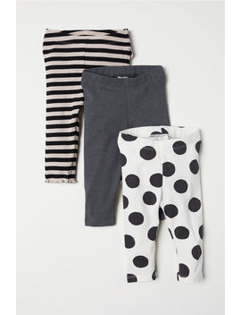 3-pack-jersey-leggings by h&m