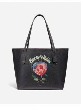 disney-x-coach-market-tote-with-poison-apple-graphic by coach