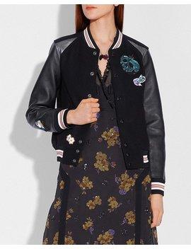 disney-x-coach-varsity-jacket by coach
