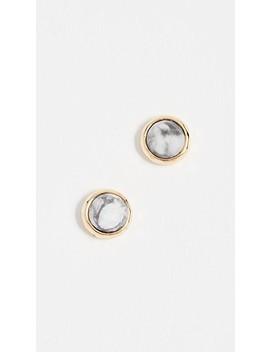 power-gemstone-stud-earrings by gorjana
