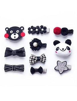 koony-baby-girls-hair-bow-hair-clip-barrettes-alligator-clips-hair-accessories by koony
