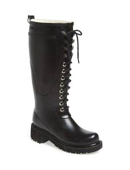 waterproof-lace-up-snow_rain-boot by ilse-jacobsen