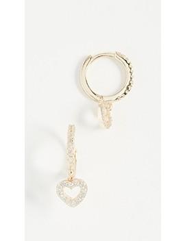 heart-huggie-earrings by shashi