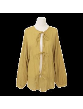 self-tie-closure-crinkled-top by stylenanda