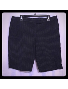 dressy-black-shorts-tiny-beige-and-red-pen-stripes by metro-7