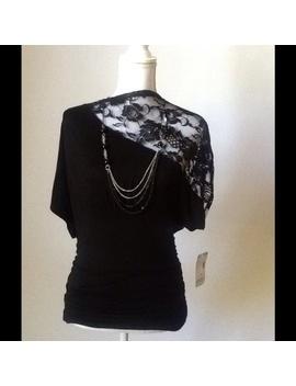 bongo-black-knit-top-w_-dolman-sleevesnwt by bongo