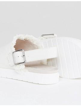 monki-slip-on-ankle-strap-sandal by monki