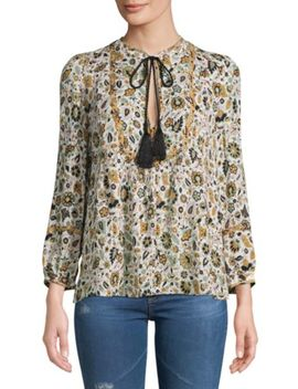 hari-floral-cotton-top by alc