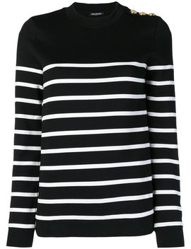 striped-sweater by balmain