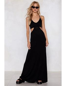 cry-your-heart-cut-out-maxi-dress by nasty-gal