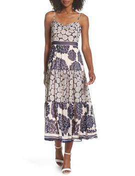 print-midi-dress by eliza-j