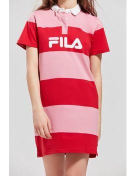 fila-+-uo-sylvia-striped-rugby-dress by fila