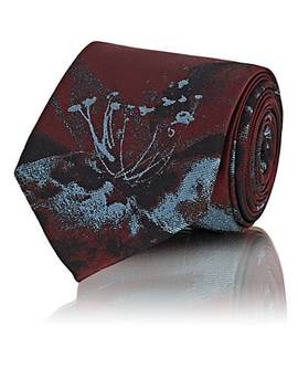 floral-print-necktie by prada