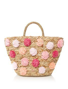 barliee-pom-pom-tote-bag by ted-baker
