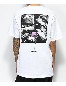empyre-lupi-rose-white-t-shirt by empyre