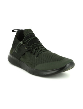 nike-men-olive-green-free-run-cmtr-running-shoes by nike
