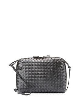 veneta-small-woven-messenger-bag by bottega-veneta