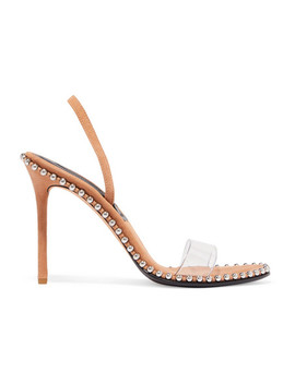 nova-studded-leather-and-pvc-slingback-sandals by alexander-wang