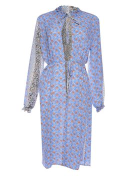 **printed-midi-shirt-dress-by-glamorous-tall by topshop