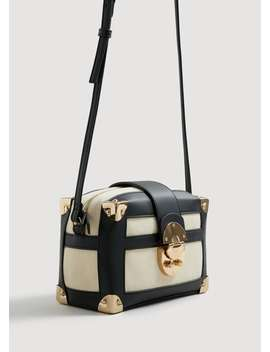 sac-coffre-bicolore by mango
