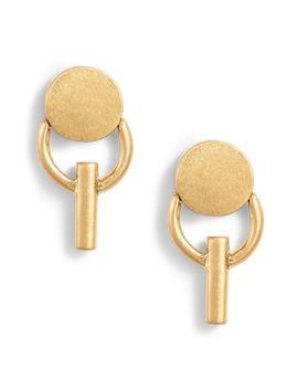 dot-fringe-earrings by madewell