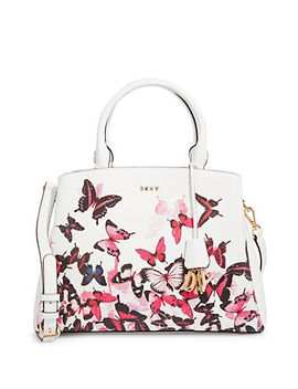 paige-butterfly-leather-satchel by dkny