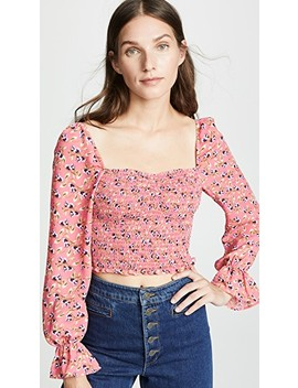 camilla-floral-arabella-top by likely
