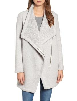 maggie-brushed-fleece-drape-collar-coat by bb-dakota