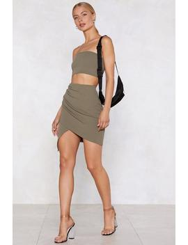 wrap-star-bandeau-top-and-skirt-set by nasty-gal