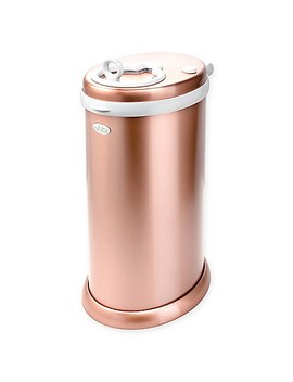 ubbi®-diaper-pail-in-rose-gold by buybuy-baby