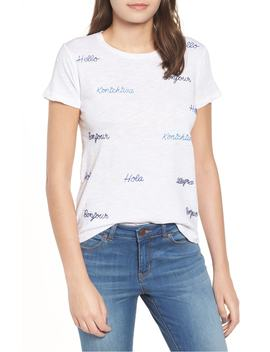 hola-embroidered-tee by lucky-brand