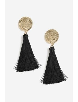 **coin-tassel-drops by topshop