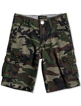 toddler-boys-camo-print-cotton-shorts by quiksilver