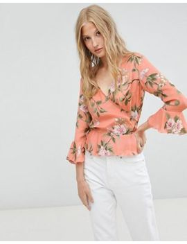 love-&-other-things-floral-wrap-blouse by top