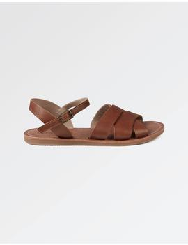 Exton Leather Flat Sandals by Fat Face