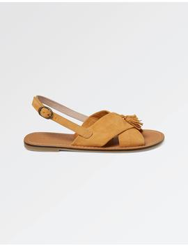 Chrisie Cross Strap Sandals by Fat Face