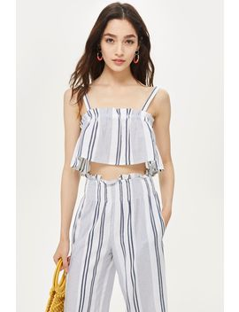 striped-camisole-top-and-trousers-co-ord by topshop